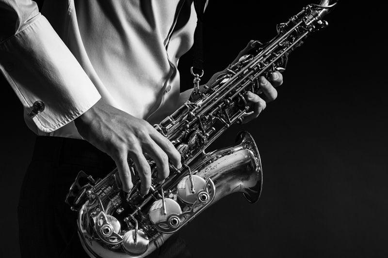 саксофон, музыка, музыкант Саксофонист.photo preview