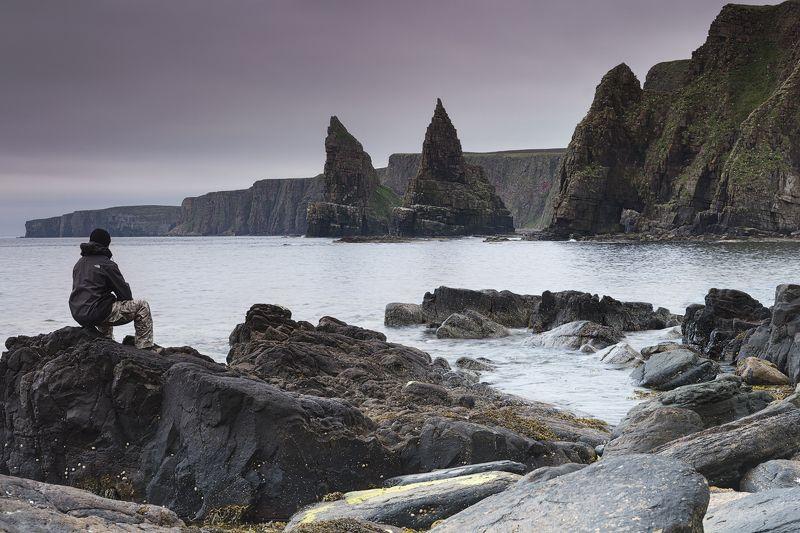 щотландия, морской пейзаж, океан, путешествие, scotland, seascape, travel, ocean, cliffs Север Шотландииphoto preview
