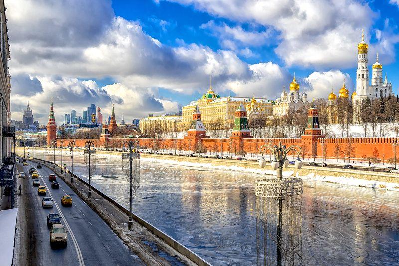 москва столица sony moscow msk russia россия urban landscape Мороз и солнце...photo preview