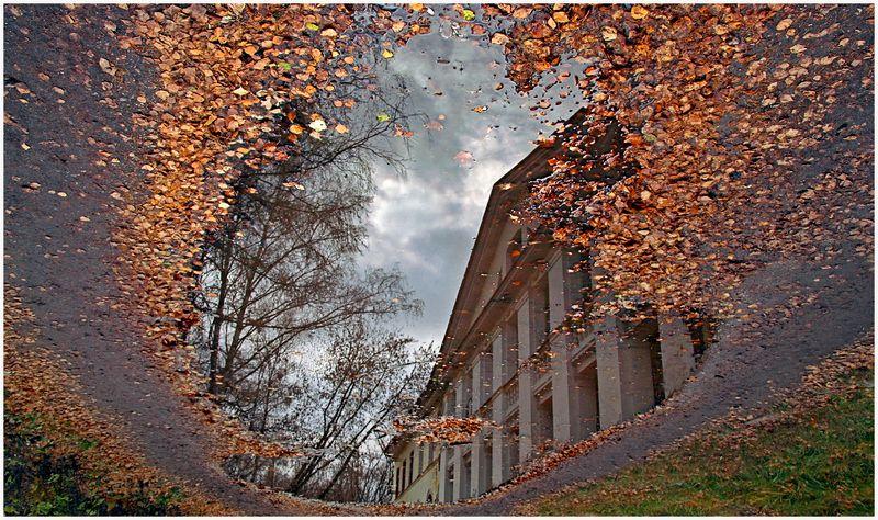 Осень в усадьбеphoto preview