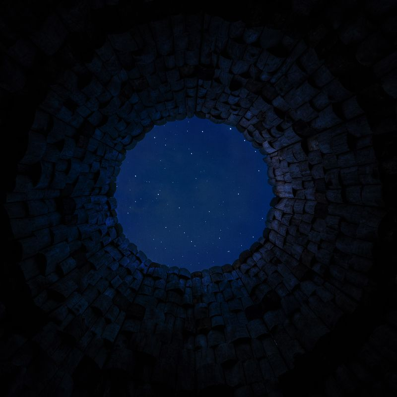 night,sky,stars,summer,well,circle,tower Midsummer nightphoto preview