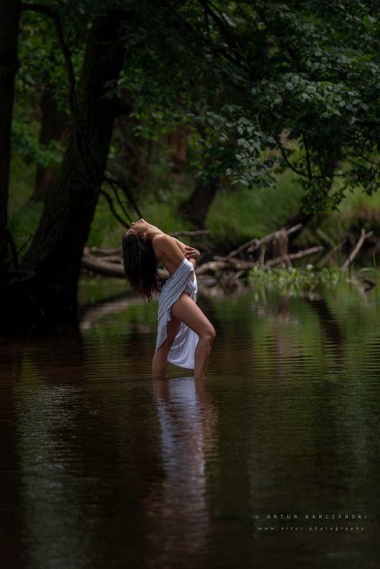 Artur Barczyński river  Mornig sunphoto preview