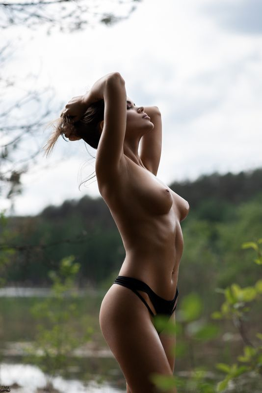 nude, nature, woman, body, topless, wild, free, portrait  Wild summerphoto preview