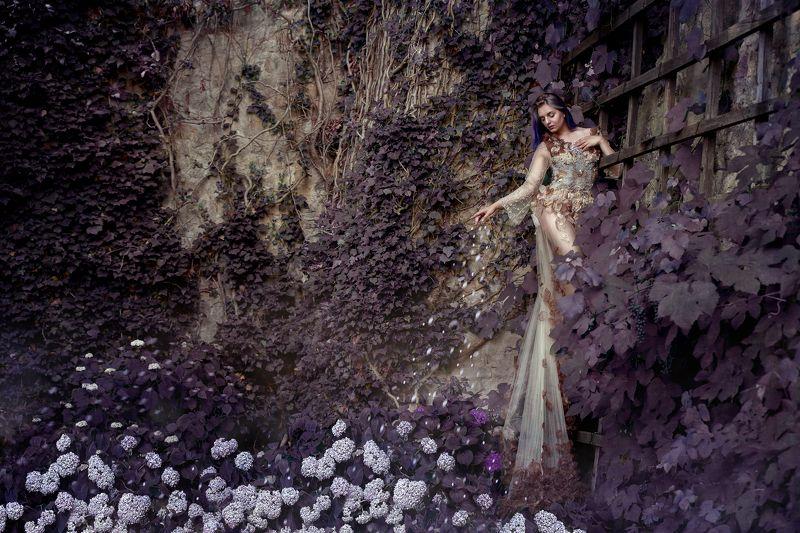 prague woman flowers Flowersphoto preview