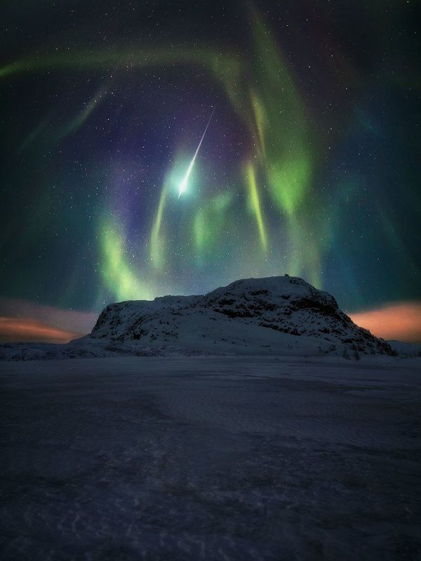 ночь сияние север провансphoto preview