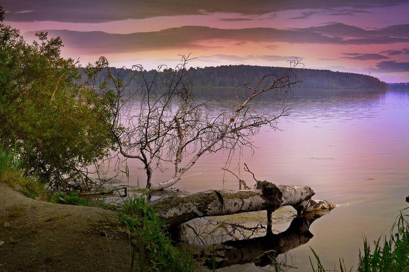 озеро,пейзаж,красота,небо,лето Тихий вечер...photo preview