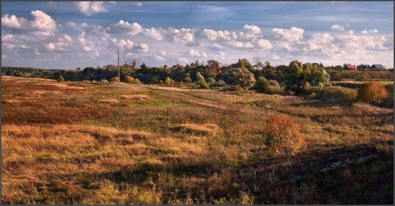 кинешма, суздаль,пейзаж, осень Золотые краски Кинешмы...photo preview