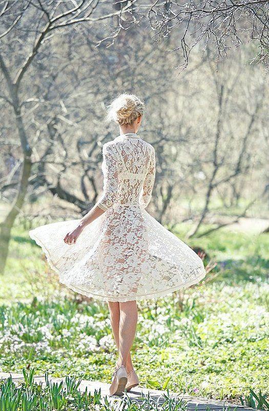 яна ультра, весна, белое платье, кружево Прозрачноphoto preview