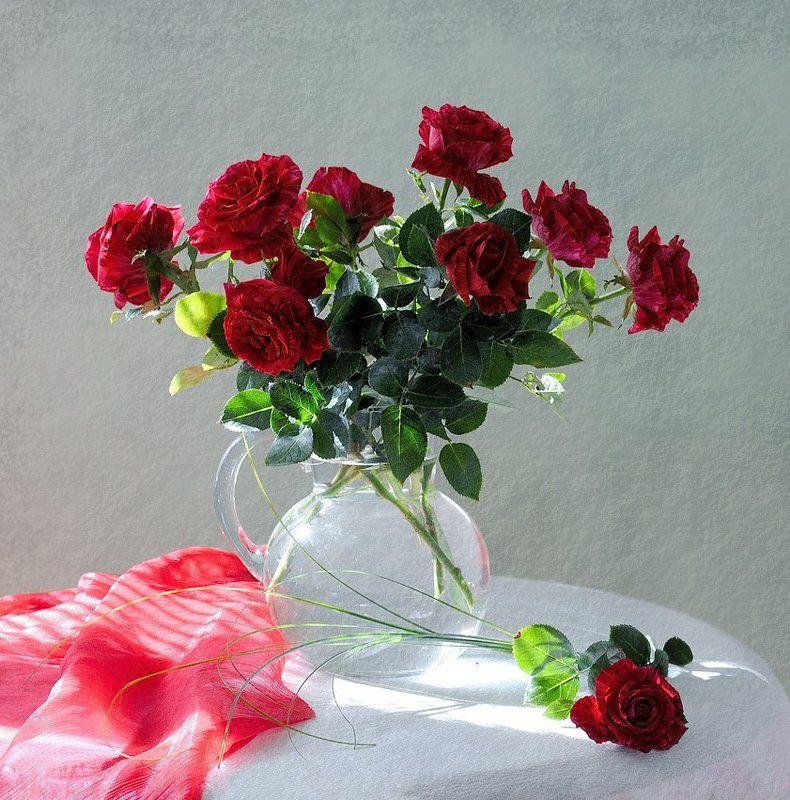 funtry, olga kovtun, photo, still life, букет, ваза, лето, листья, натюрморт, роза, розы, фотонатюрморт, цветы Розыphoto preview
