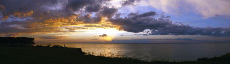 паномара, пейзаж. закат photo preview