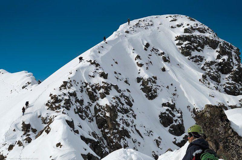 снег, горы, скалы, камни, небо, фирн, хребет, гребень, траверс, альпинизм, альпинист, сборы, хабаровск, баджал, 2011, май, апрель Transit momentphoto preview