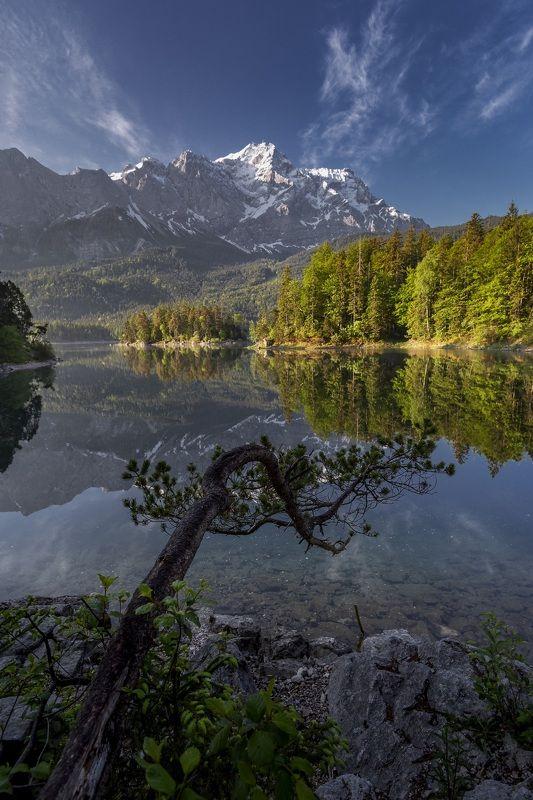 Озеро, Германия, Айбзее  Утро на озере photo preview