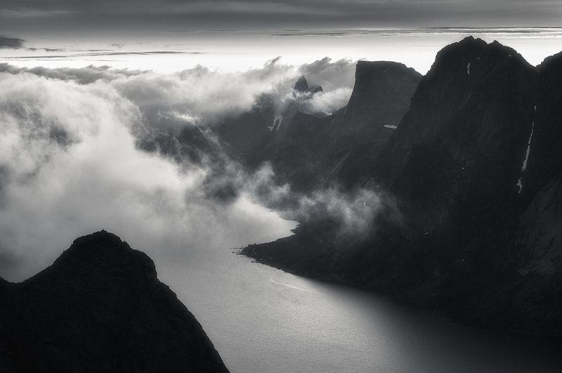 lofoten, reine Background worldphoto preview