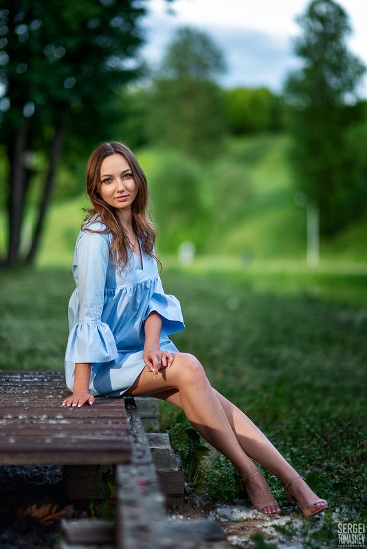 портрет, лето, модель Наташаphoto preview
