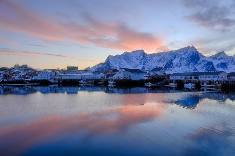 путешествие, отражение, закат, лофотены, норвегия, travel, sanset, norway, lofoten, mirroring Отражениеphoto preview