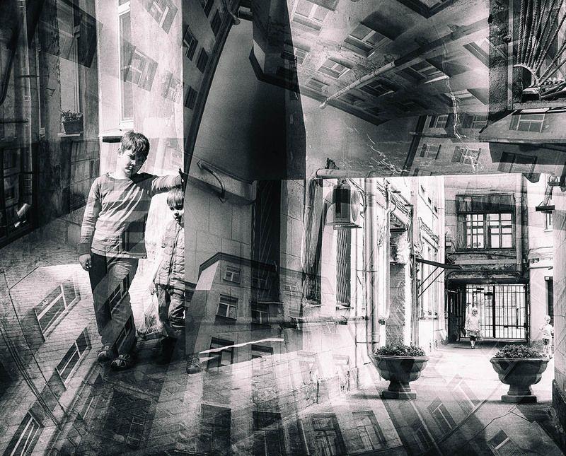 санкт-петербург, петроградская сторона, дворы, дети Ребята нашего двораphoto preview