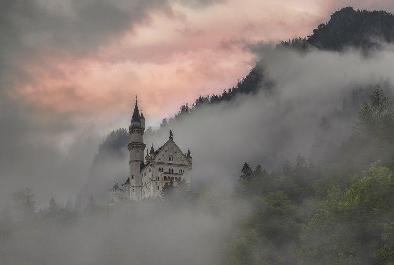 Замок, Германия, бавария, нойшвайнштайн Замок Нойшванштайн photo preview
