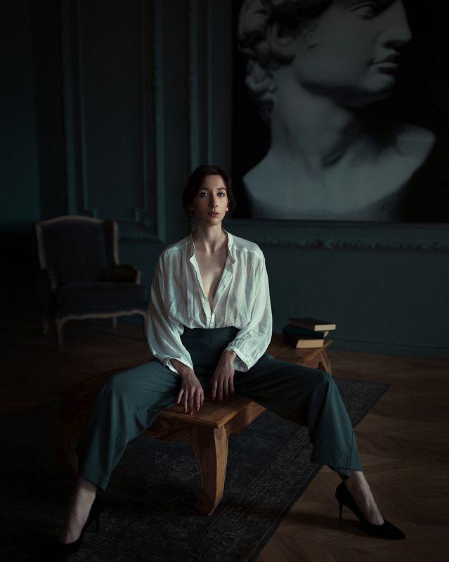 портрет студия настроение цвет девушка Наталиphoto preview