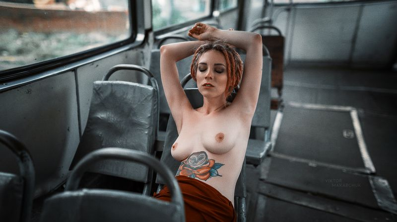 nude, portrait,model,nu,mood,style,tattoo * * *photo preview