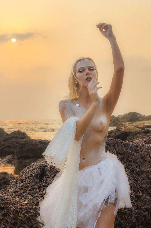 закат, девушка, образ, фотограф спб На закатеphoto preview