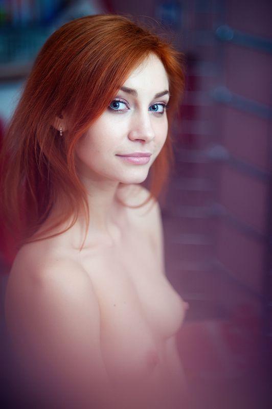девушка, ню, эротика, портрет Оляphoto preview