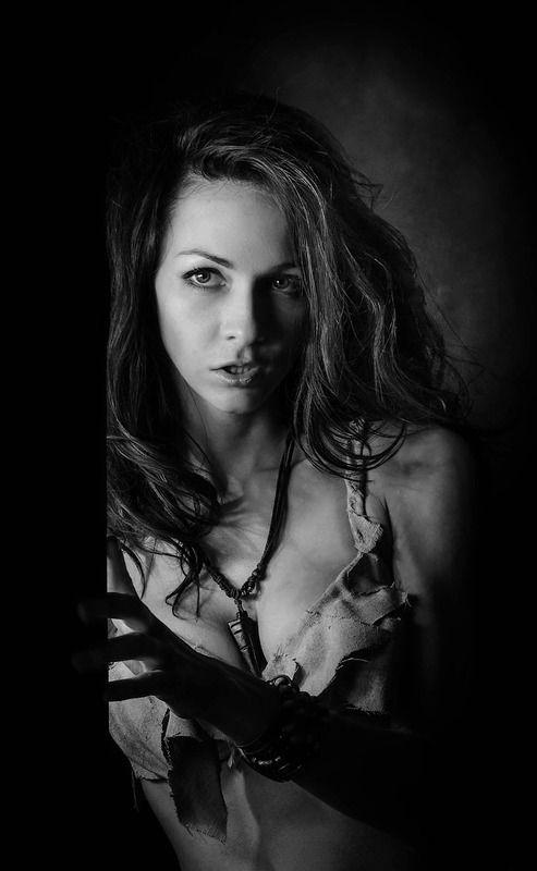портрет, девушка, свет, чб, фотограф спб ...photo preview