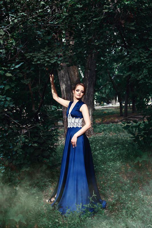 мода, фешн, красивые люди, портрет, платье, выпускница, красота, девушка, прическа Юлияphoto preview