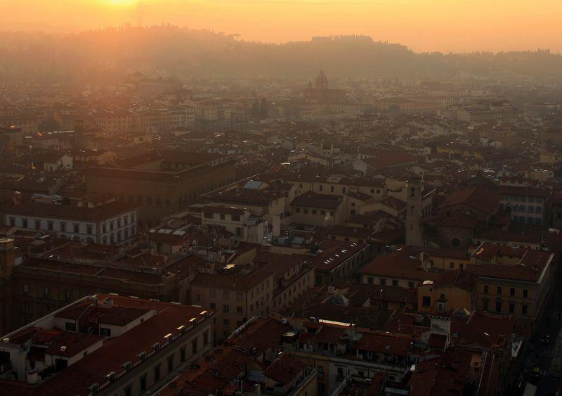 город, Firenze, Флоренция, путешествие, закат, italy, travel, sunset, city Firenzephoto preview