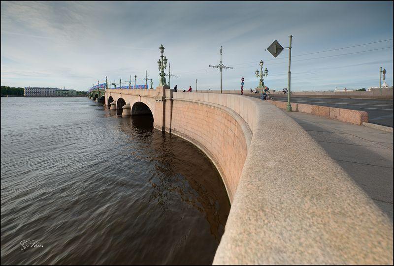 ленинград Троицкий мостphoto preview