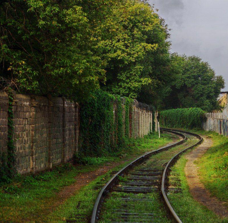 Железнодорожный переезд, г. Воронежphoto preview