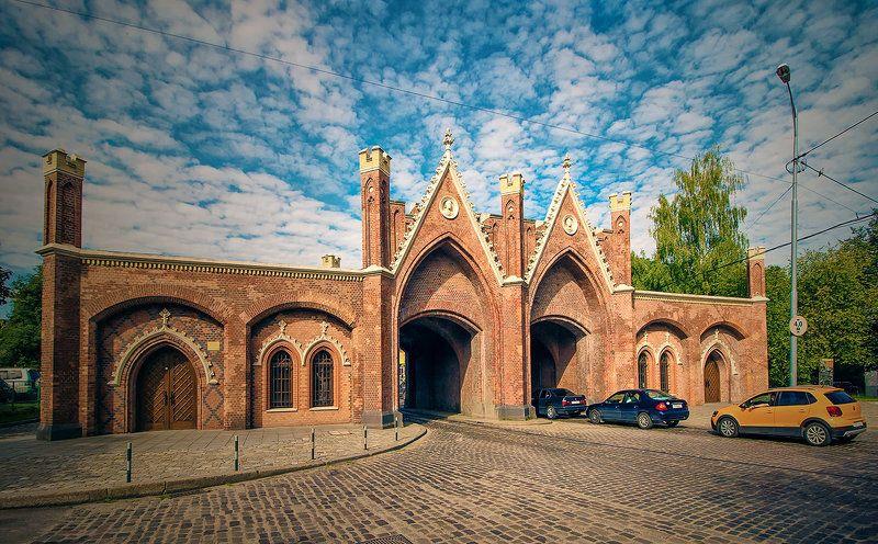 Калининград(Кёнигсберг). Бранденбургские ворота.photo preview