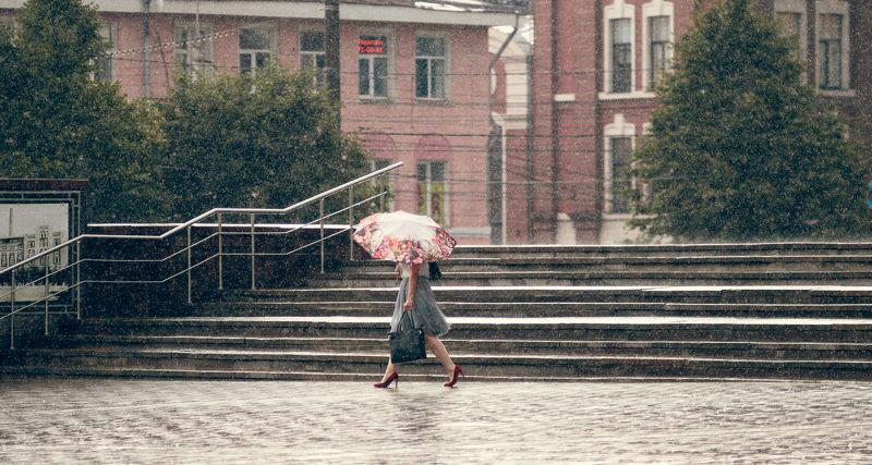 Дождь в городеphoto preview