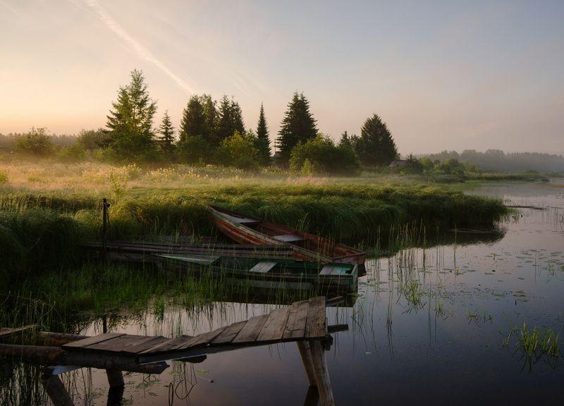 рассвет,природа,Россия,Вятка Кто рано встаёт, тот на рассвет идёт)photo preview