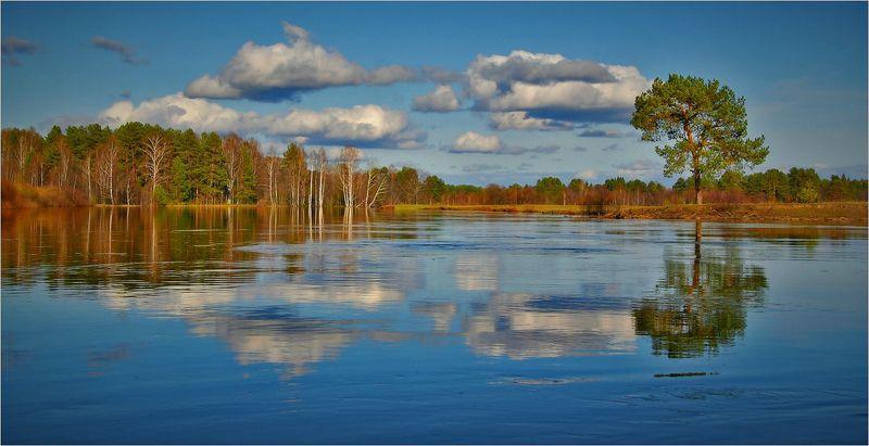 Разлив на реке Устаphoto preview