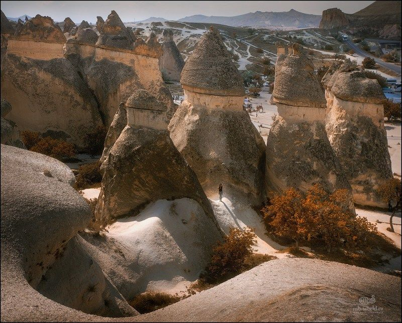 Турция, Каппадокия, фототур, фотопутешествие, пейзаж Инопланетный пейзаж Каппадокииphoto preview