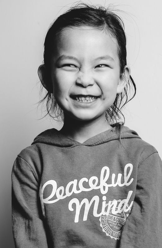 little girl smile, Peaceful, mongolia  Peaceful Mindphoto preview
