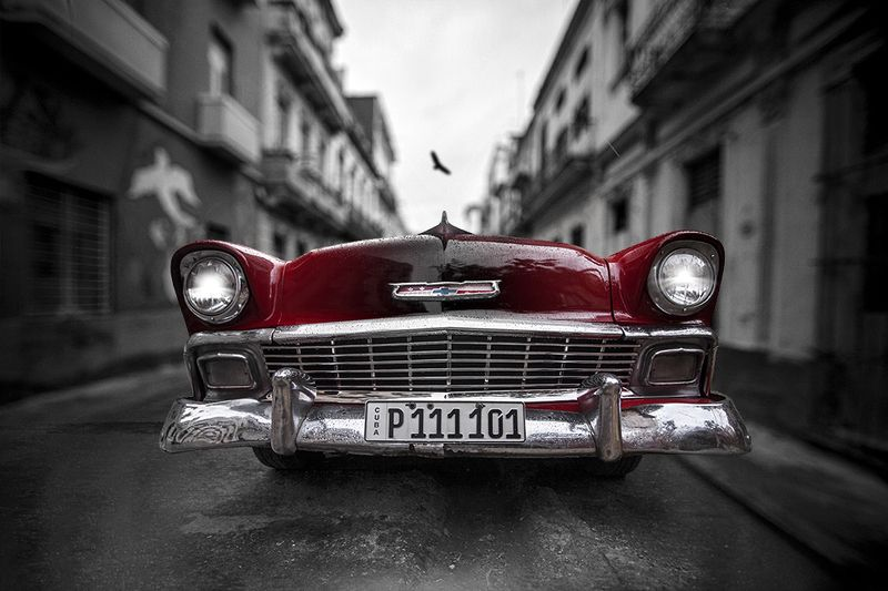 Street,Car,Cuba P 111101photo preview