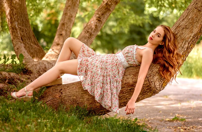 girl, summer, beautiful, young, female, dress Gabiaphoto preview