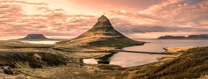 водопад,kirkjufell,исландия,пейзаж Kirkjufellphoto preview