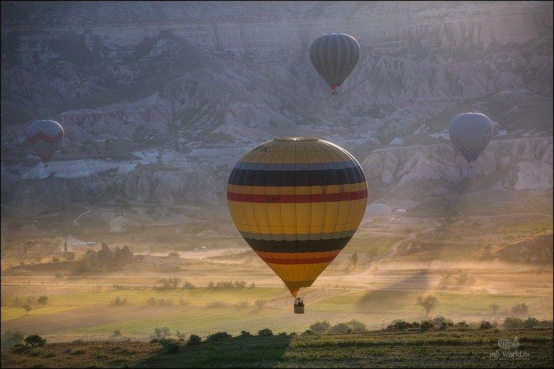 Каппадокия, шары, рассвет, тур, фототур Воздушные корабли Каппадокииphoto preview
