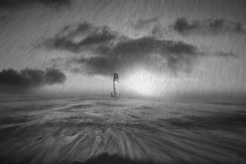 man,sea,storm,windsurf Storm in the Black Seaphoto preview