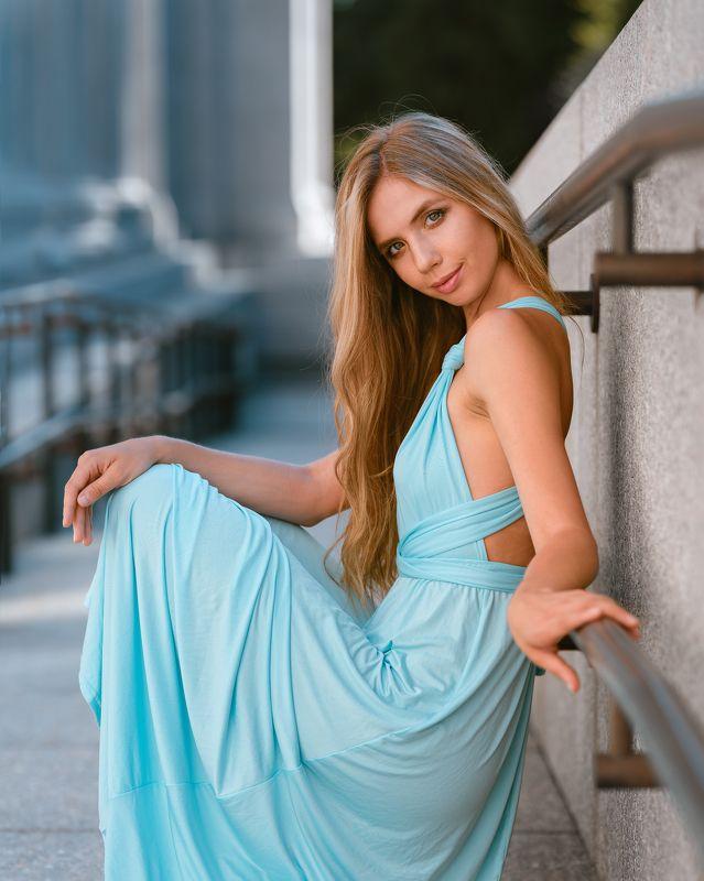 girl, summer, dress, beautiful, blonde, portrait Kseniyaphoto preview