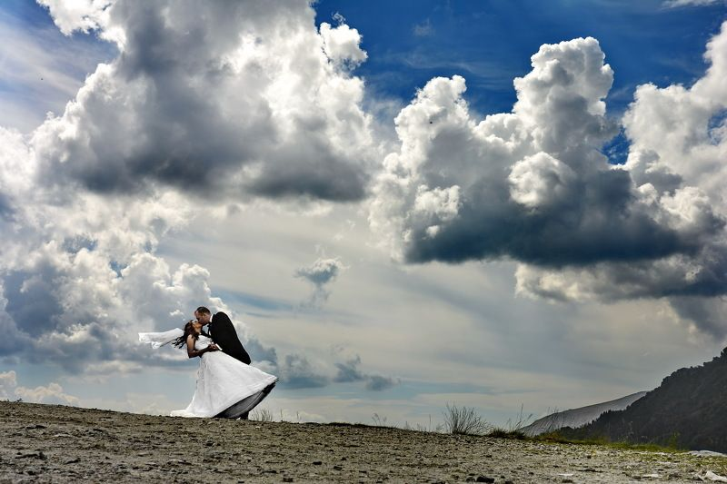 nature, altitude, groom, bride, after_wedding, clouds After Wedding Dayphoto preview