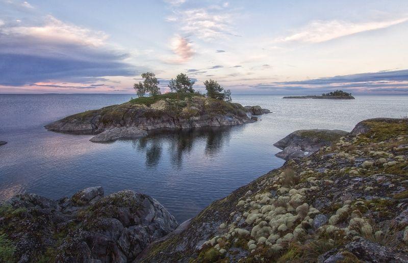 озеро,шхеры,острова. Островки для счастья.photo preview