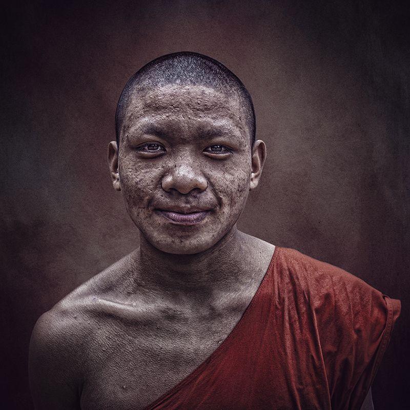 Laos,Cambodia,Monk Laos Monkphoto preview