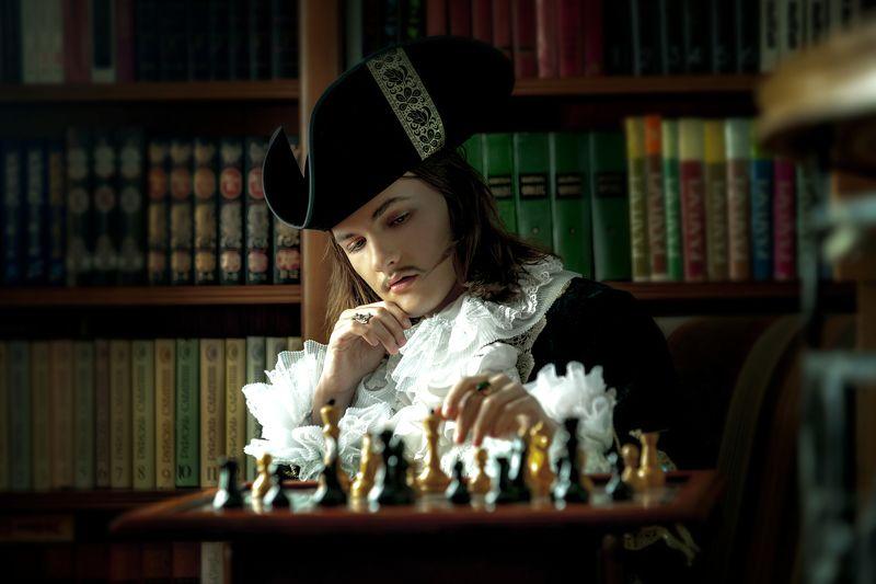 шахматист - аристократphoto preview