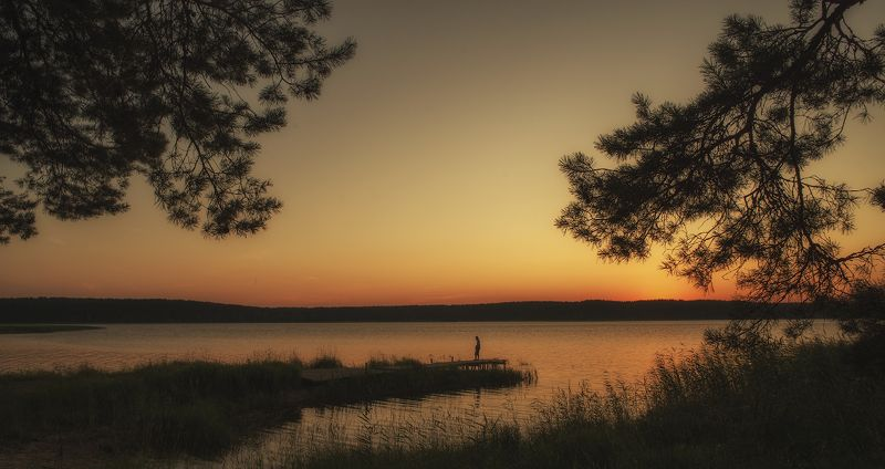 Селигерские закаты.photo preview