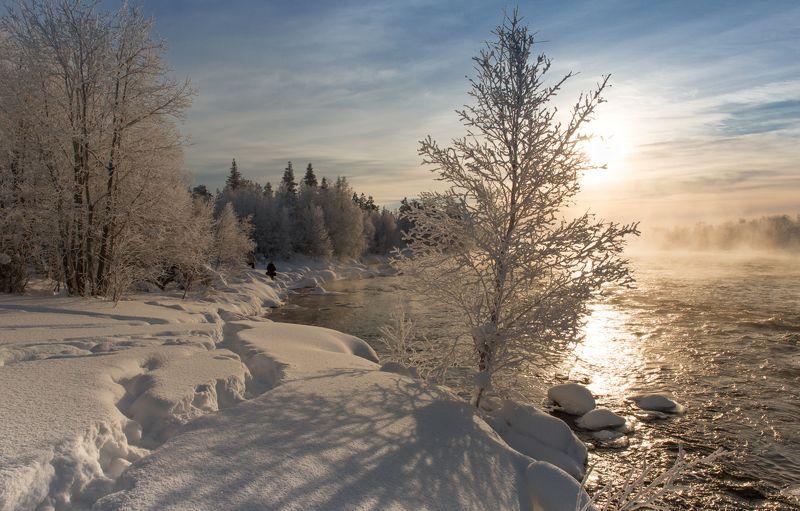 зимнее дыхание рекиphoto preview