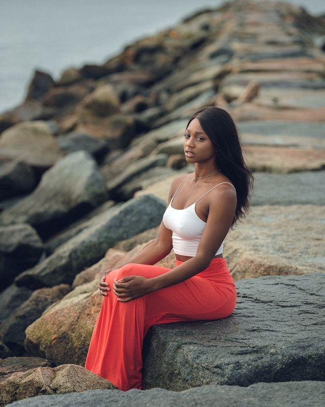 beauty, portrait, girl, young, female, summer, beach Kiannaphoto preview