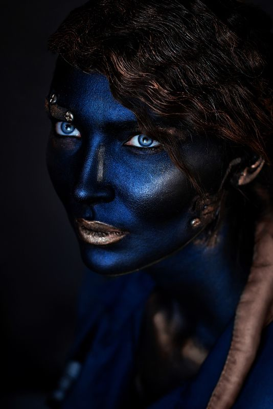 art, face, faceart, portrait, model, mood Angel of the minephoto preview